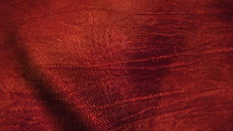 Red silk fabric blowing in the wind Stock Video Footage