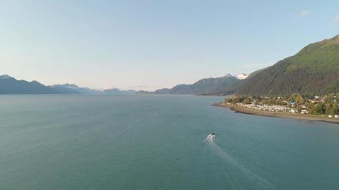Summer boating views from Alaska Live Action
