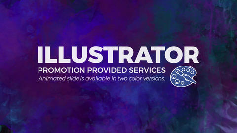 Illustrator Promo After Effects Template