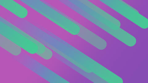 Beautiful Abstract coloured geometric shapes. Geometric pattern Animation