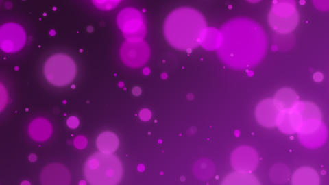 Beautiful Purple Bokeh background, defocused blurry motion background. Season greeting background Animation