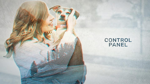 Double Exposure Slideshow After Effects Template