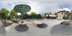 Metelkova Social center in Ljubljana VR 360° Photo