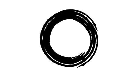 Paint a black circle with paint Live Action