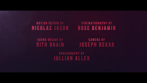 Cine Credit V 2 After Effects Template