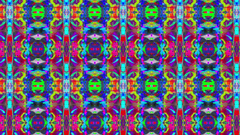 Colorful vintage cyberpunk elegant glittering pattern Footage