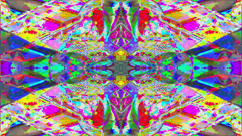 Transforming geometrical futuristic elegant glittering background Footage