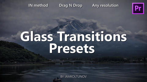 Glass Transitions Presets (Pack 9) Premiere Pro Effect Preset