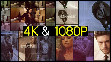 Clean Fashion Promo After Effects Templates