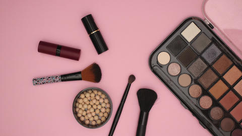 Make up Cosmetics Beauty products - Stop motion animation Animation