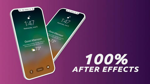 Mobile App Promo After Effects Template