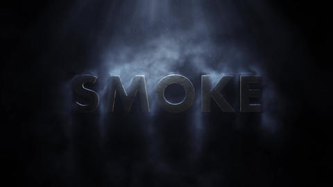 Smoke Titles Motion Graphics Template