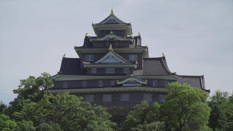 Okayama Castle front Live Action