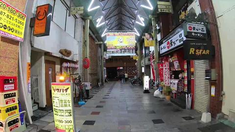 香川県高松市ライオン通りの夜 ビデオ