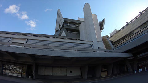 Exterior of the kyoto international Conference Center Live Action