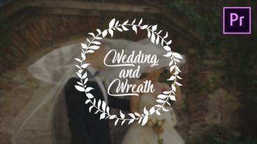 Wedding Wreath モーショングラフィックステンプレート