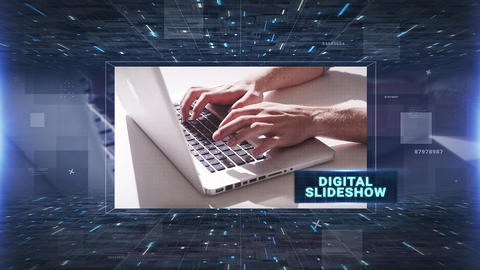 Digital Slideshow After Effects Templates
