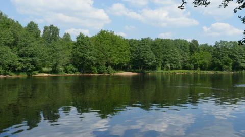scenic river landscape Live Action