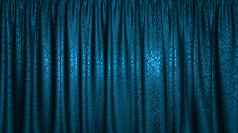 Vertically opening curtain, with alpha mask Animation