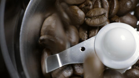 Coffee Grinder sound Stock Video Footage