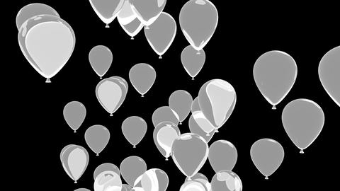 balloons 02 Stock Video Footage