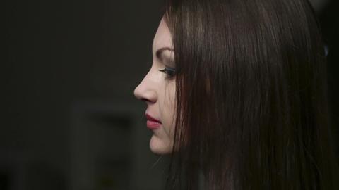 Making portrait Stock Video Footage