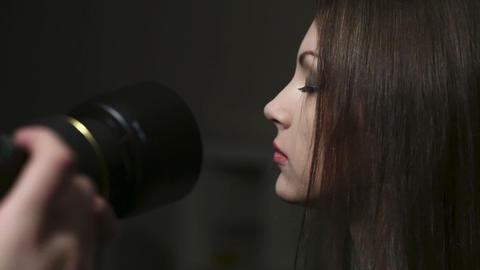 Making portrait Footage