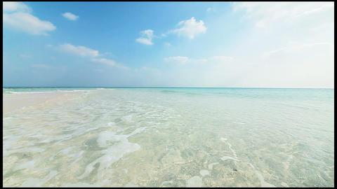 Hateno beach in Kumejima, Okinawa Stock Video Footage