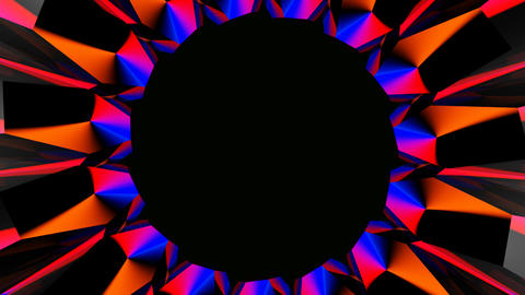 radial hole abstract Animation