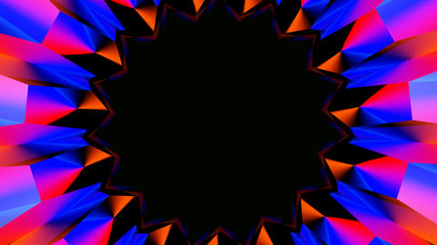 radial hole abstract Stock Video Footage