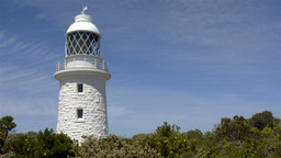 Cape Naturaliste Lighthouse in South West Western Australia Stock Video Footage
