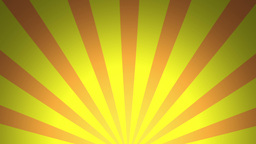 BG RETRO RADIAL 02 Yellow 24fps Stock Video Footage