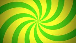 BG RETRO RADIAL 03 Green 25fps Animation