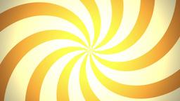 BG RETRO RADIAL 03 Orange 30fps Stock Video Footage