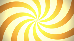 BG RETRO RADIAL 03 Orange 24fps Animation