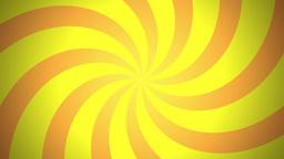 BG RETRO RADIAL 03 Yellow 24fps Stock Video Footage