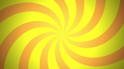 BG RETRO RADIAL 03 Yellow 24fps Animation