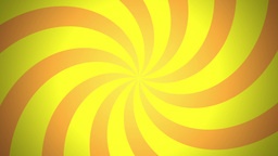 BG RETRO RADIAL 03 Yellow 30fps Stock Video Footage