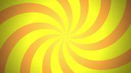 BG RETRO RADIAL 03 Yellow 30fps Animation