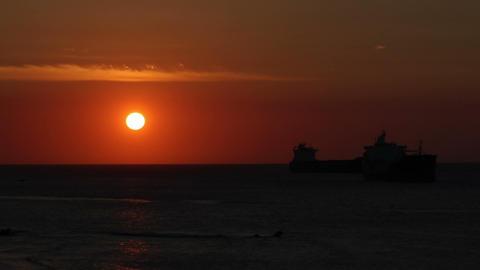 Sunset timelapse 03 Stock Video Footage