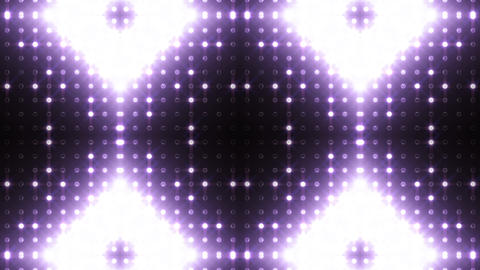 LED Kaleidoscope Wall 2 Bb 1 BTW HD Stock Video Footage