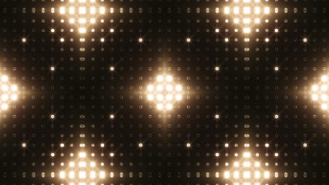 LED Kaleidoscope Wall 2 Bb 1 LRW HD Stock Video Footage