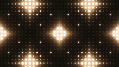 LED Kaleidoscope Wall 2 Bb 1 LRW HD Stock Video Footage