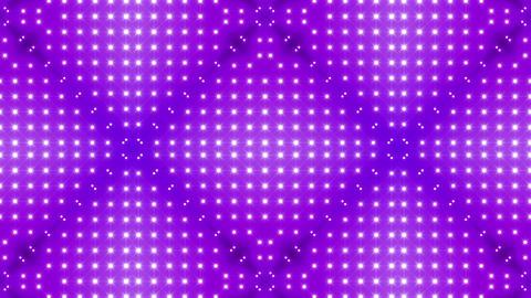 LED Kaleidoscope Wall 2 Bs 1 LRB HD Stock Video Footage