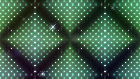 LED Kaleidoscope Wall 2 Bs 1 Na W HD Stock Video Footage