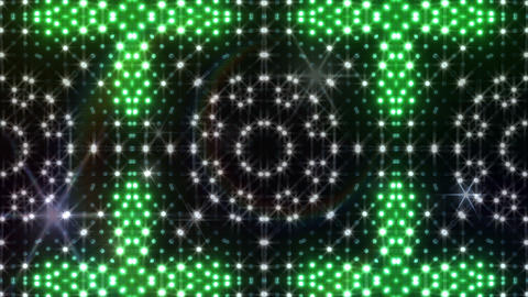 LED Kaleidoscope Wall 2 Cb 2 BTB HD Stock Video Footage