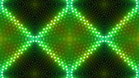 LED Kaleidoscope Wall 2 Gb 1 BTR 2 HD Stock Video Footage