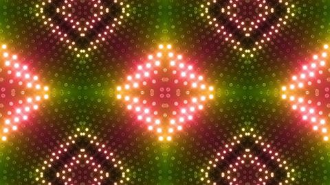 LED Kaleidoscope Wall 2 Gb 1 BTR 2 HD Animation