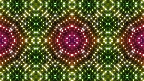 LED Kaleidoscope Wall 2 Gb 1 LRR HD Stock Video Footage