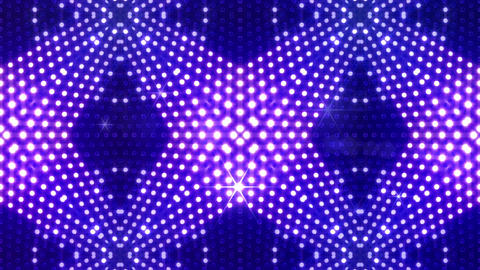 LED Kaleidoscope Wall 2 Gb 1 Na R HD Stock Video Footage